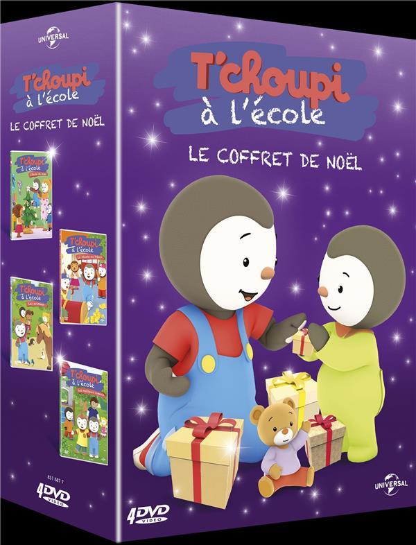 T Choupi A L Ecole Le Coffret De Noel Universal Pictures