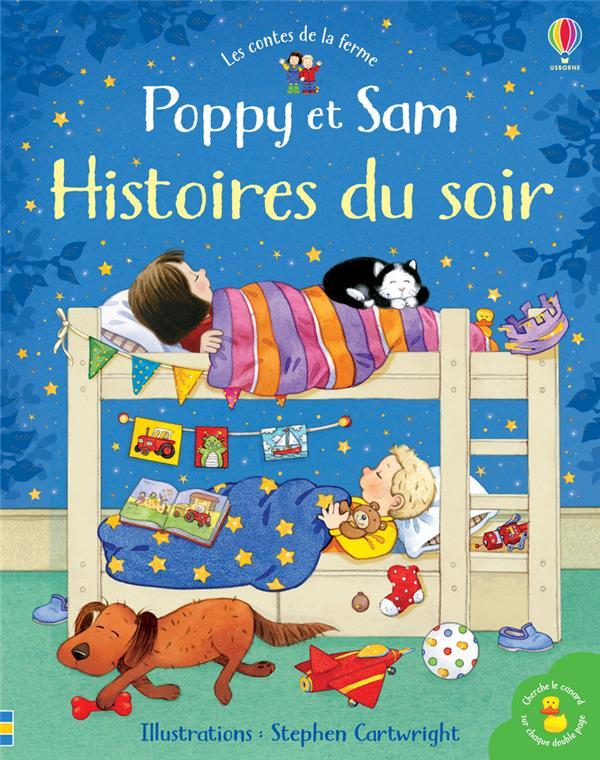 POPPY ET SAM  -  HISTOIRES DU SOIR