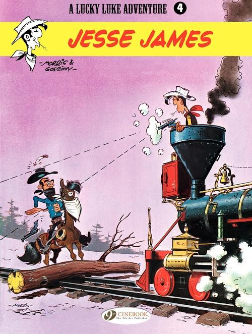Lucky Luke T.4 ; Jesse James