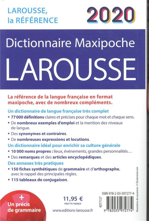 Dictionnaire maxipoche (édition 2020)