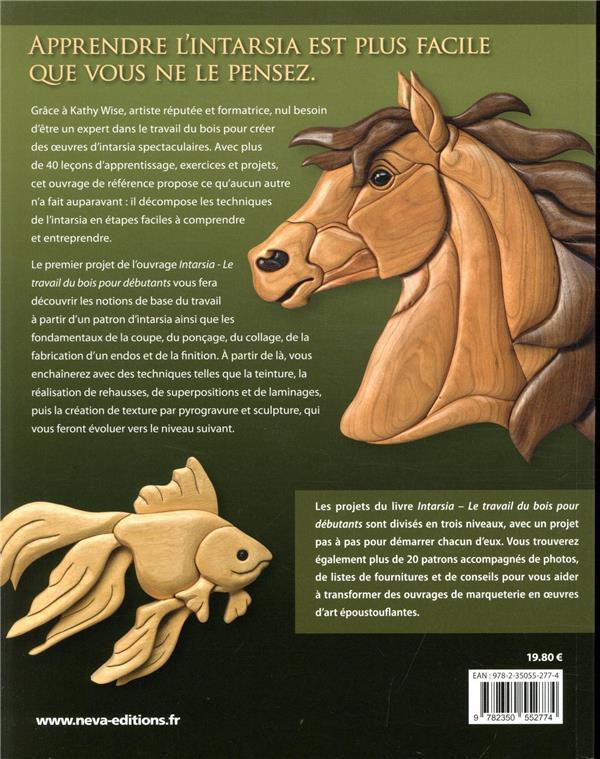 Intarsia ; travail du bois pour débutants