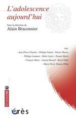 Vente EBooks : L'adolescence aujourd'hui  - Alain Braconnier
