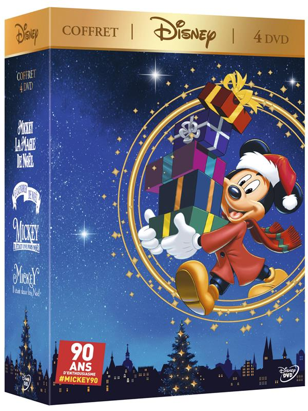 coffret Mickey Noël 4 films