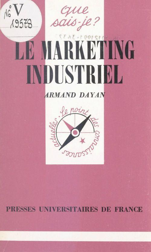 Le Marketing industriel