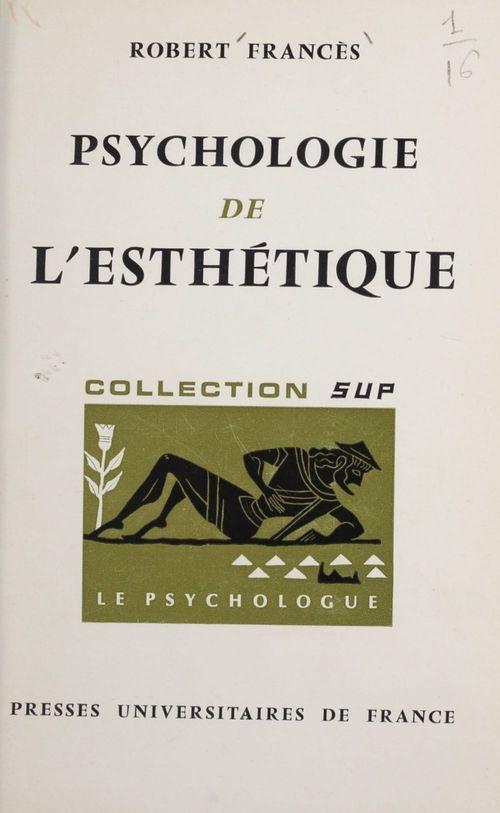 Psychologie de l'esthétique