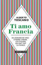 Vente Livre Numérique : Ti amo Francia  - Alberto Toscano