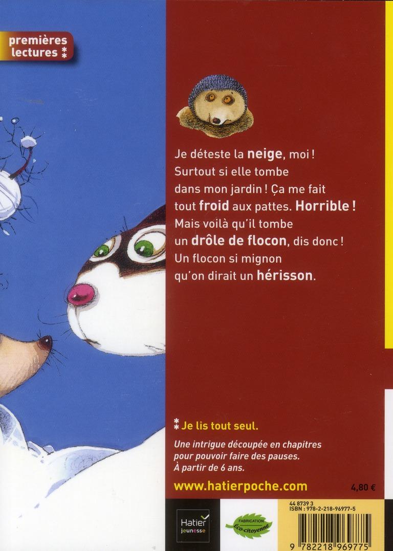 moi, Thérèse Miaou ; tiens, un flocon qui pique !