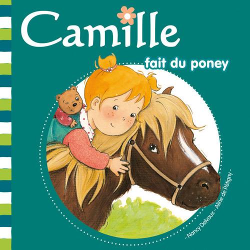 CAMILLE ; Camille fait du poney