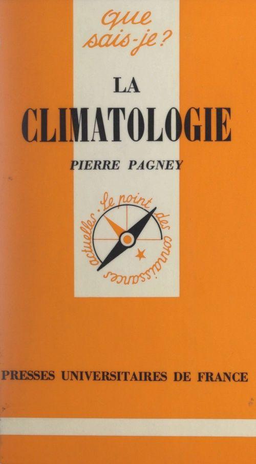 La climatologie