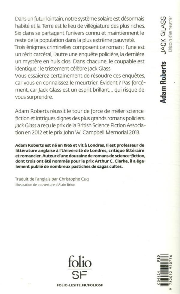 Jack Glass ; l'histoire d'un meurtrier