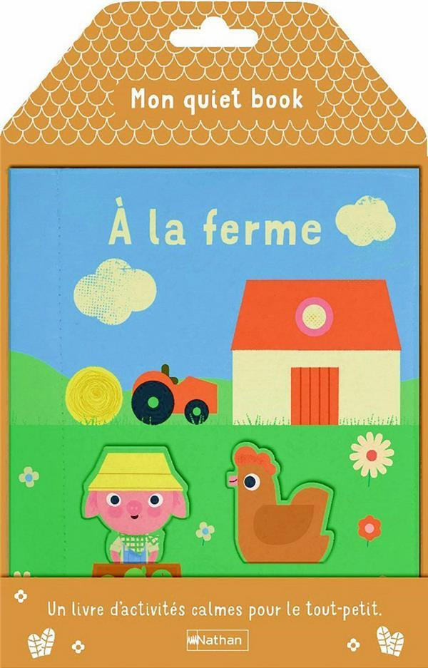 Mon quiet book ; à la ferme