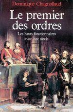 Vente Livre Numérique : Le Premier des Ordres  - Dominique Chagnollaud