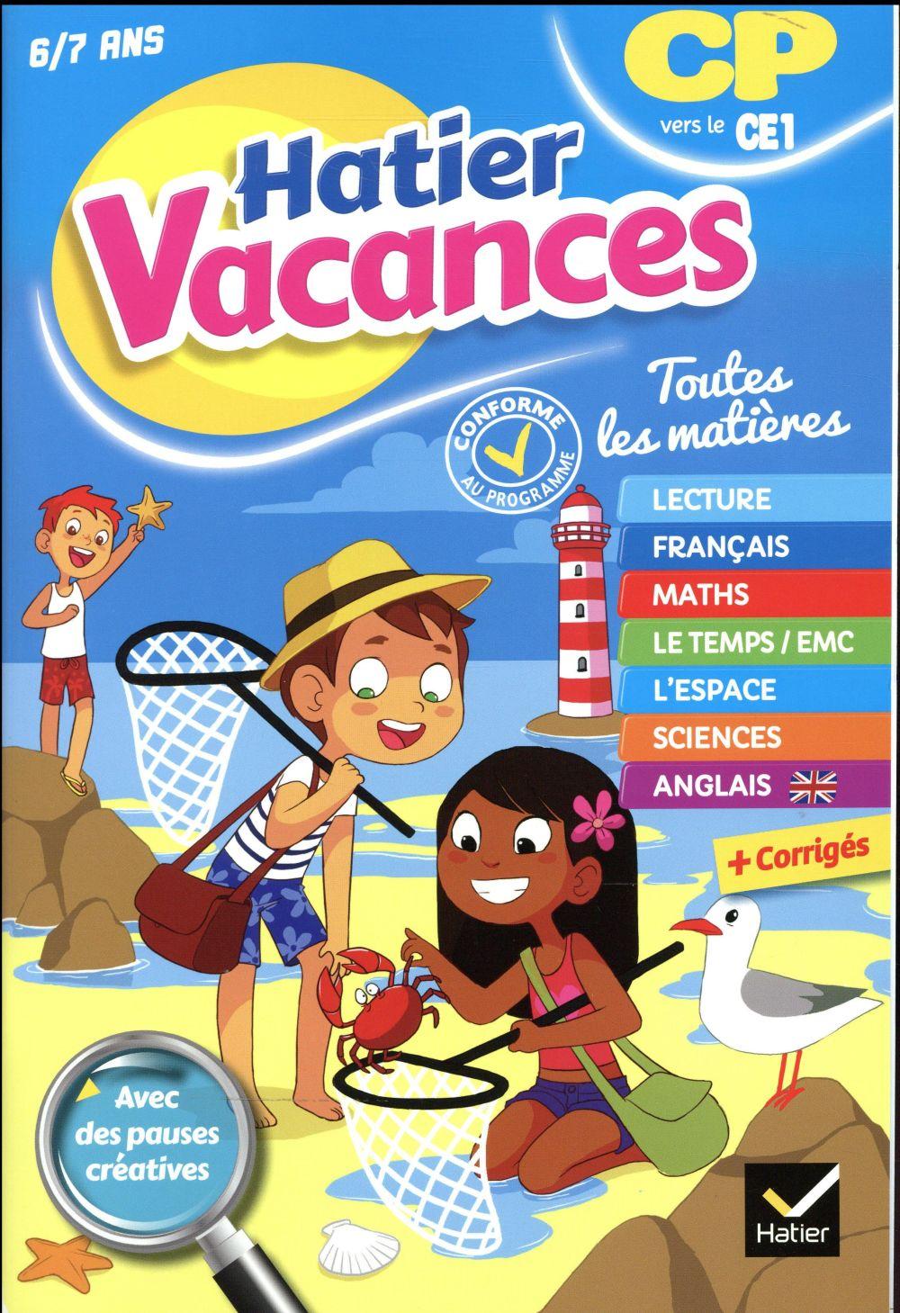 Roynard Marie-Paule - CAHIER DE VACANCES DU CP VERS LE CE1- 2019