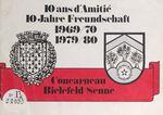 10 ans d'amitié Concarneau Bielefeld-Senne (1969-70, 1979-80)