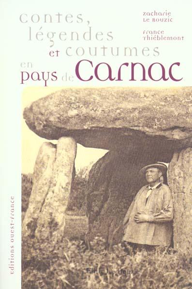 Contes, légendes et coutumes en pays de Carnac