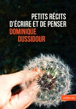 Vente Livre Numérique : Petits récits d'écrire et de penser  - Dominique Dussidour