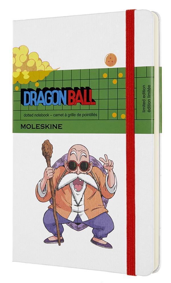 Carnet pointillé ; Dragonball ; master Roshi