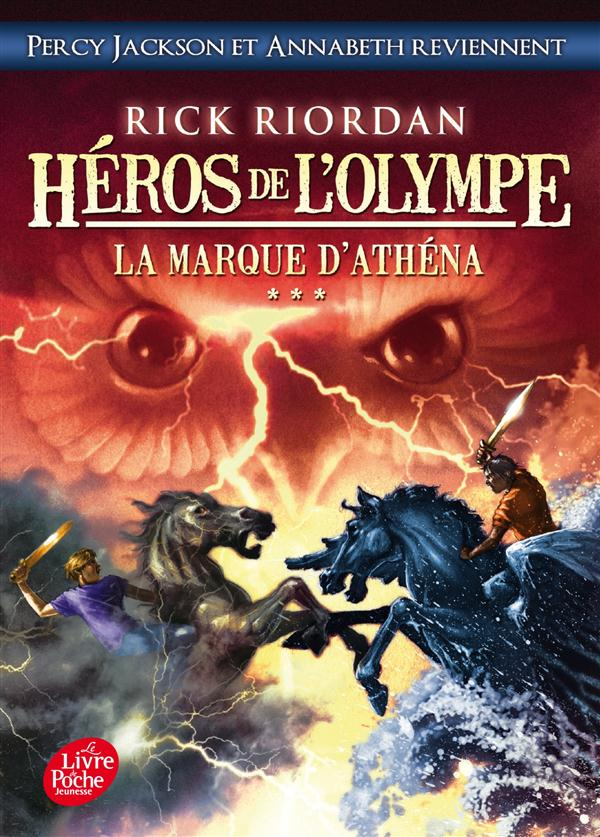 Héros de l'Olympe T.3 ; la marque d'Athéna