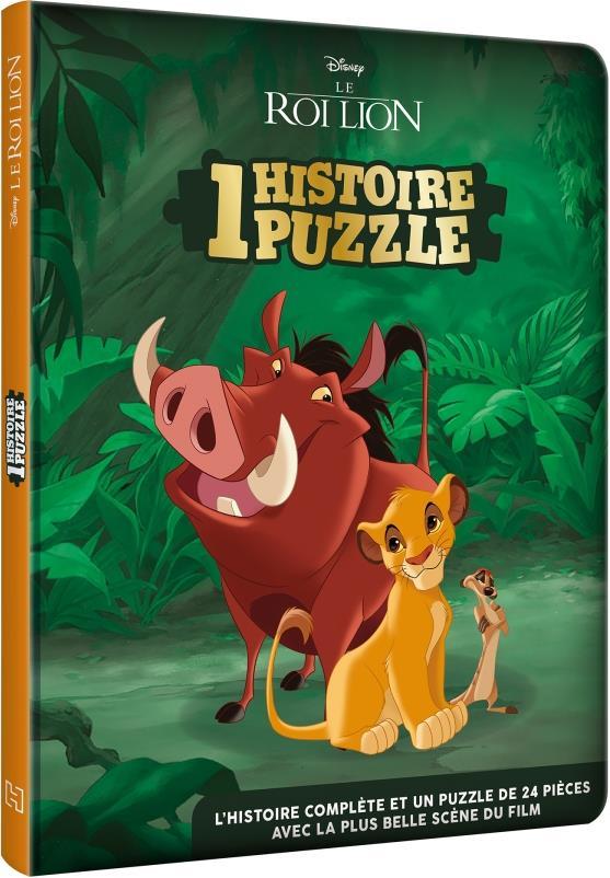 Le Roi Lion ; Une Histoire, Un Puzzle