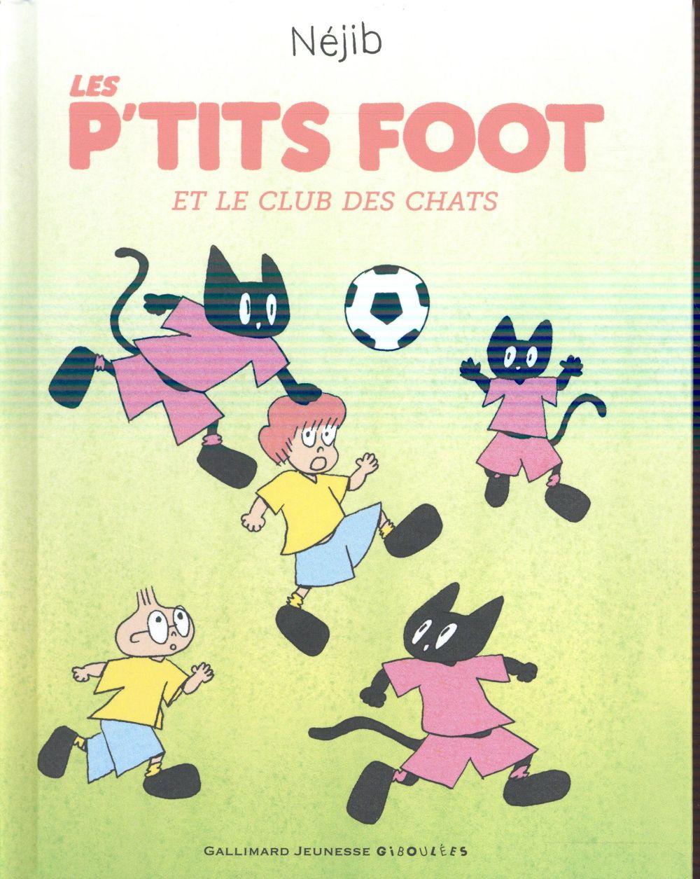 Les p'tits foot et le club des chats