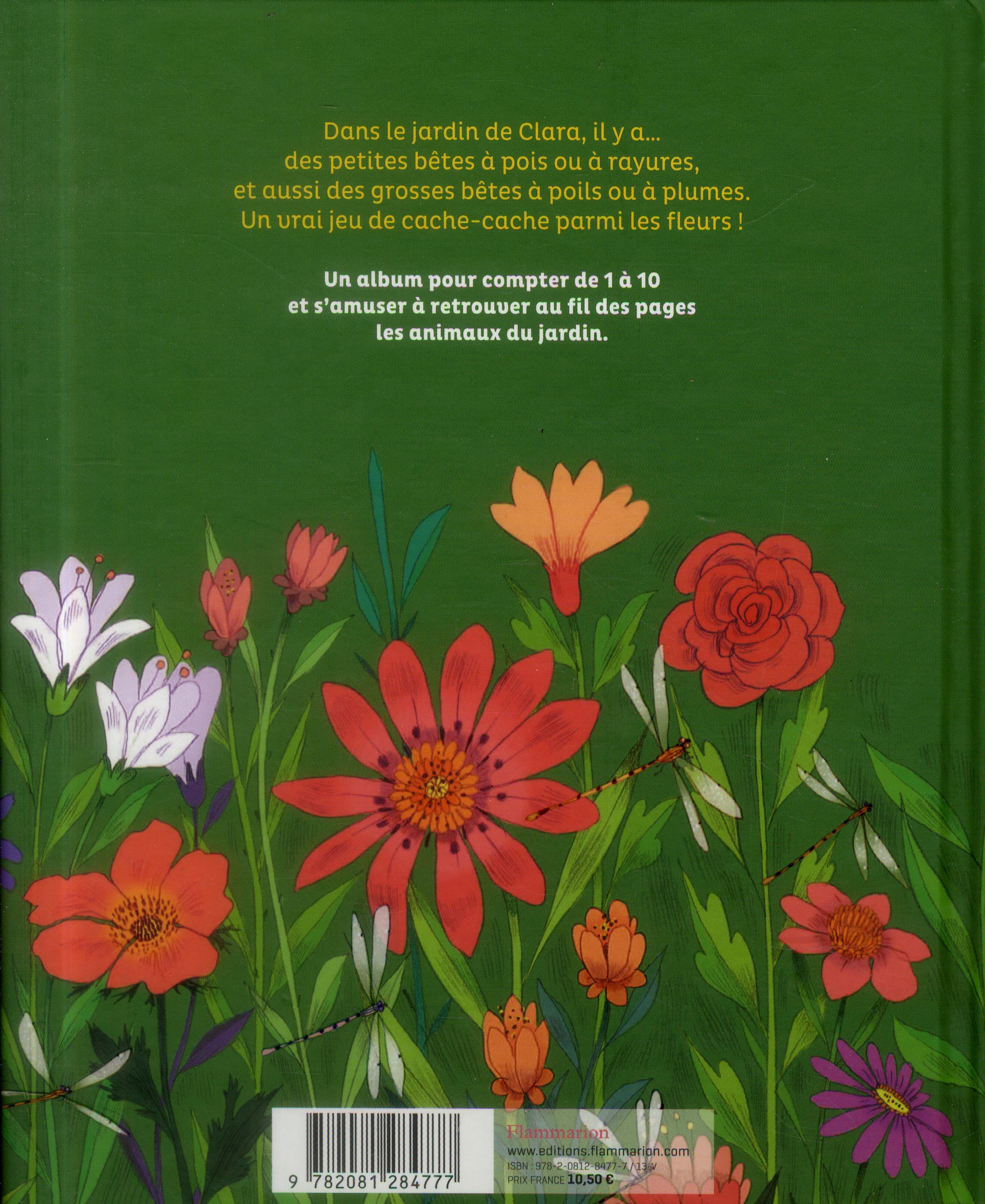 Le jardin de Clara ; un livre à compter
