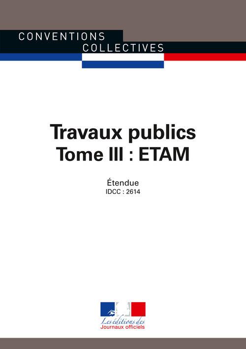 Travaux publics : Etam