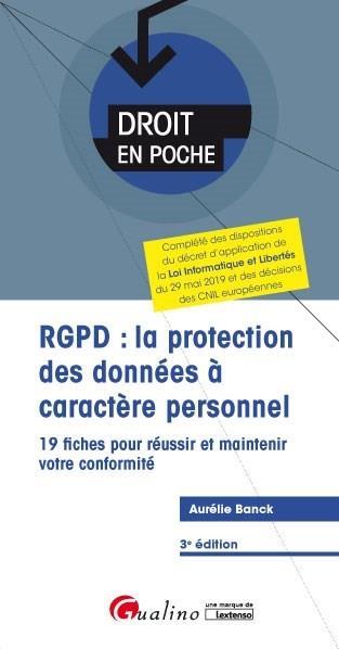 RGPD : la protection des données à caractère personnel (3e édition)