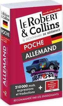 LE ROBERT & COLLINS ; POCHE ; dictionnaire allemand