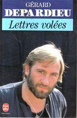 Lettres volées  - Gerard Depardieu