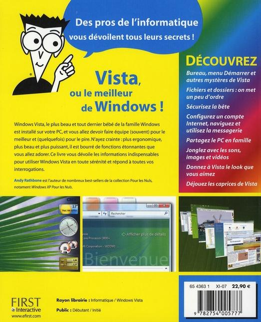 Windows Vista pour les nuls (2e édition)