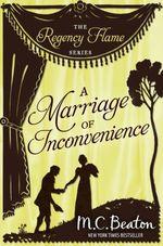 Vente Livre Numérique : A Marriage of Inconvenience  - Beaton M C