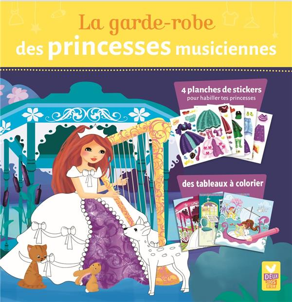 La garde robe des princesses musiciennes