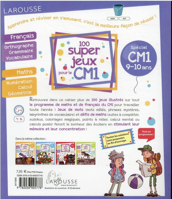 100 super jeux pour le CM1