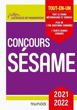 Concours Sésame ; tout-en-un (édition 2021/2022)
