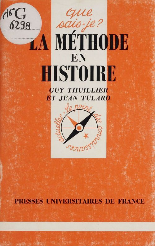 La methode en histoire