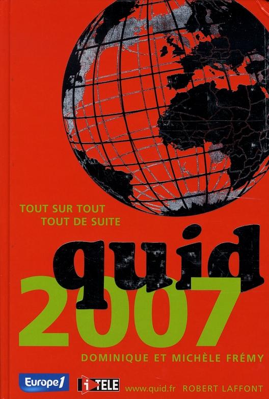 Quid (édition 2007)