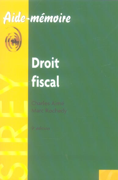 droit fiscal (9e édition)
