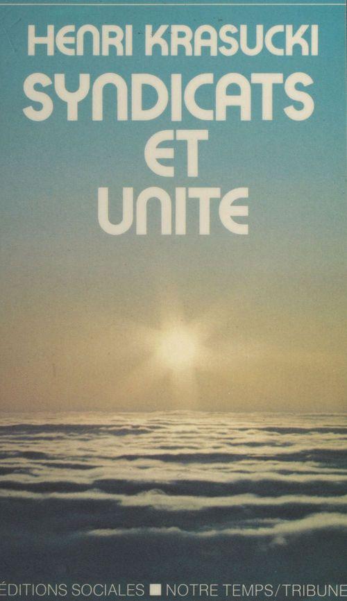 Syndicats et unité