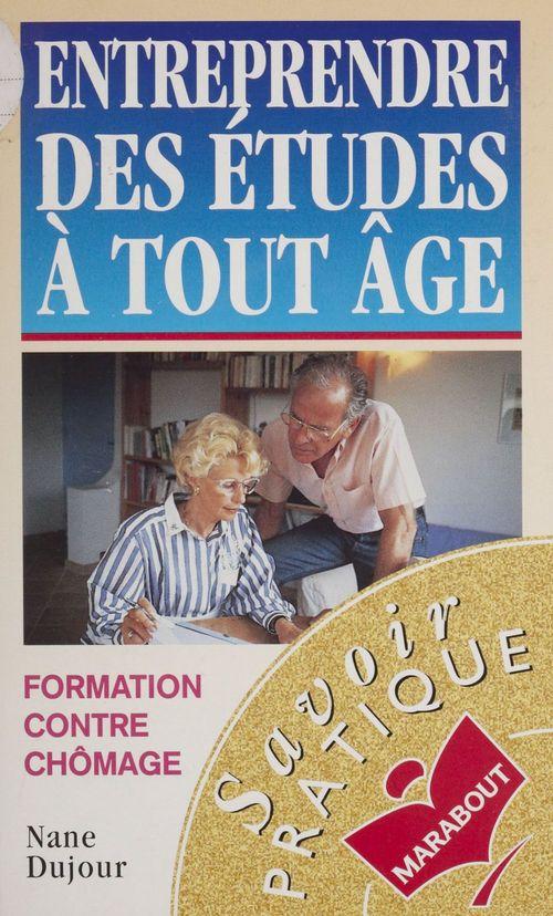 Entreprendre des etudes a tout age (11/96)