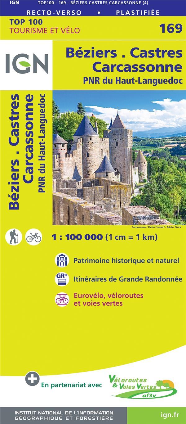 TOP100169 ; Béziers, Castres, Carcassonne, PNR de Haut-Languedoc (4e édition)