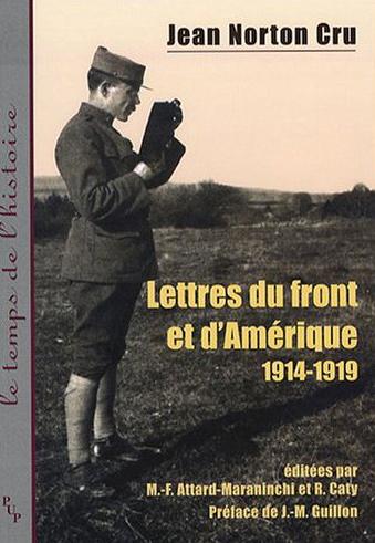 Lettres du front et d amerique (1914-1919)