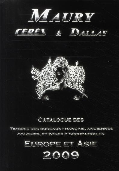 Catalogue des timbres Europe et Asie (édition 2009)