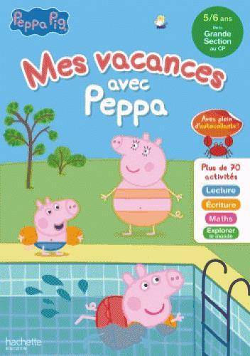 Mes vacances avec Peppa ; GS à CP