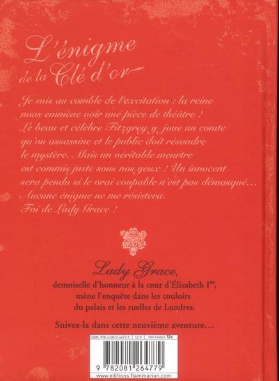 Lady Grace t.9 ; l'énigme de la clé d'or