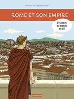 Vente Livre Numérique : L'Histoire du monde en BD (Tome 1) - Rome et son empire  - Dominique Joly
