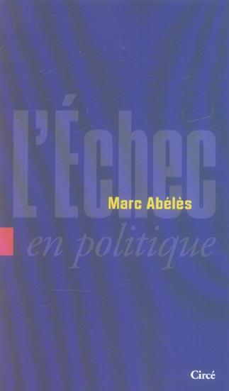 L'echec en politique