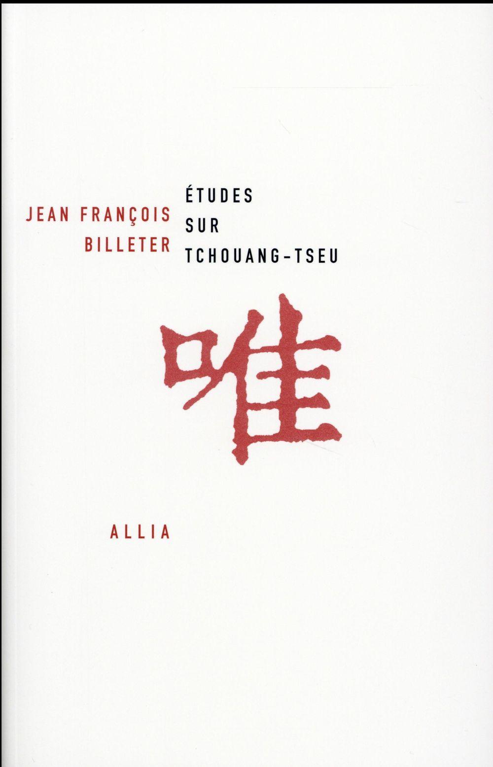 études sur Tchouang-Tseu