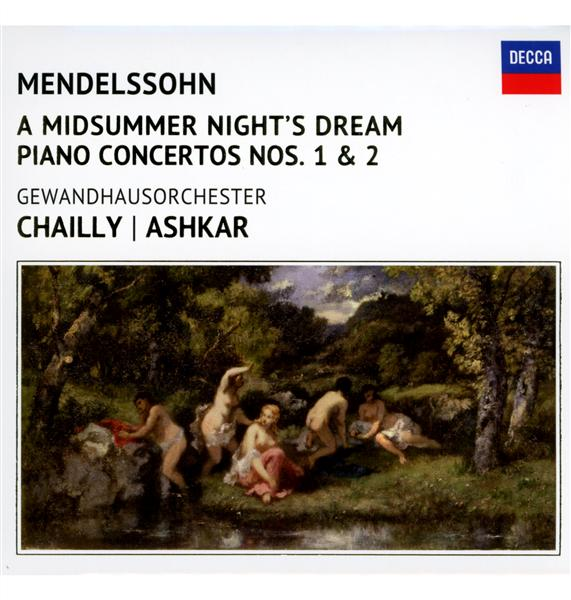 le songe d'une nuit d'été - concerto pour piano n°1 - concerto pour piano n°2