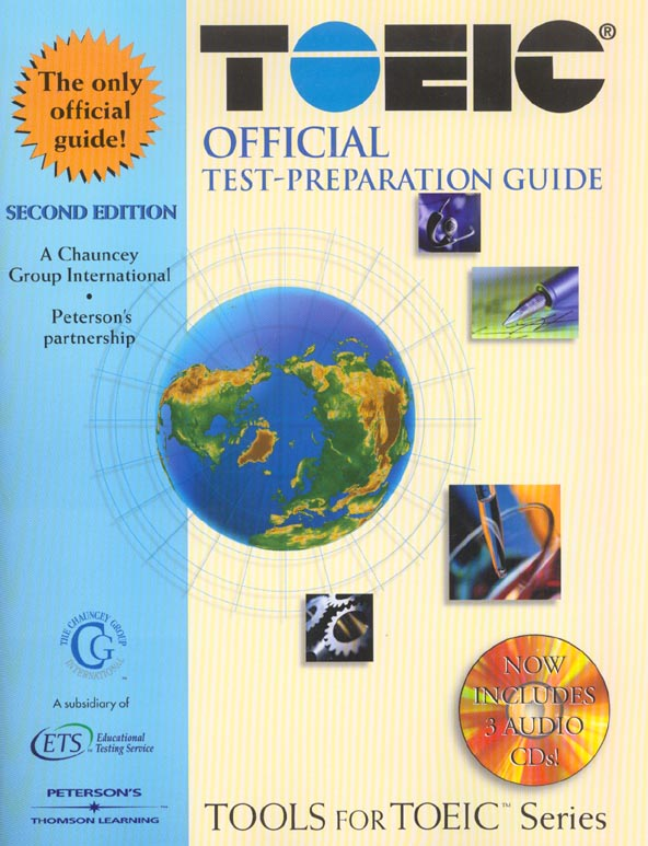 Toeic official test ; preparation guide w/cd