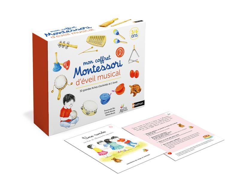 Mon coffret Montessori ; jeux musicaux